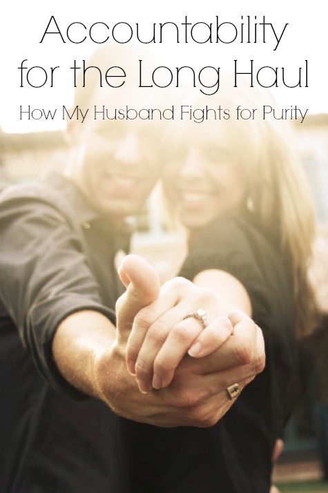 husband fights for purity