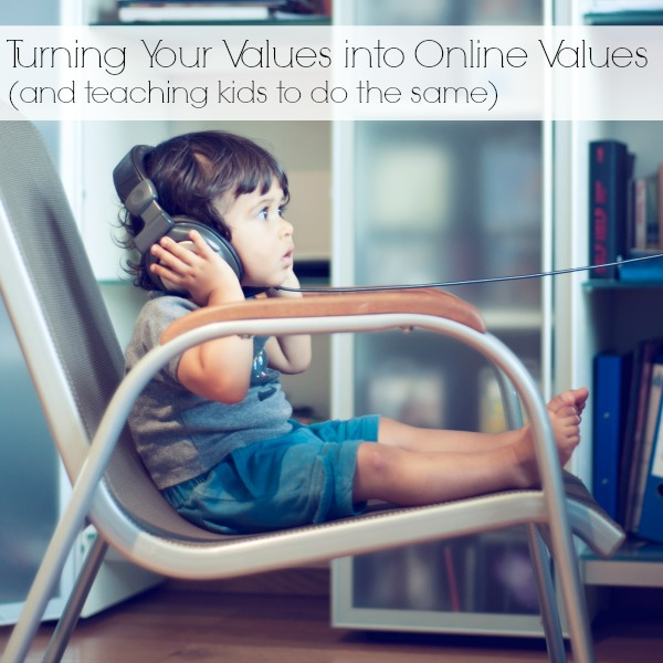 Online Values - Teaching Kids