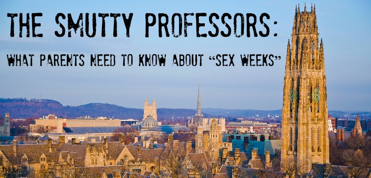 The Smutty Professors Sex Week