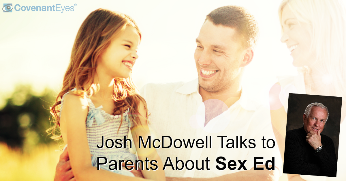 Josh McDowell Talks to Parents About Sex Ed