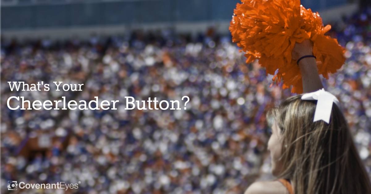 What's Your Cheerleader Button