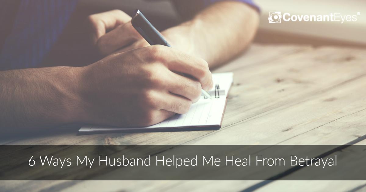husband helped me heal