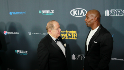 Ted Baehr and Terry Crews