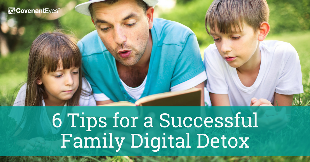 6 tips for a successful family digital detox