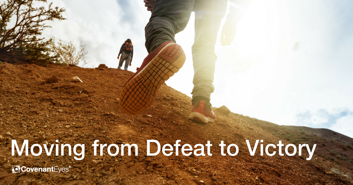 Moving from Defeat to Victory